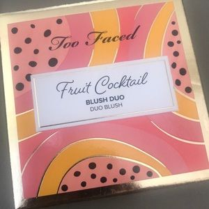 Other - Too Faced Blush Duo - papaya scented